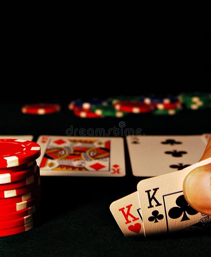 De Hand van de pook stock foto