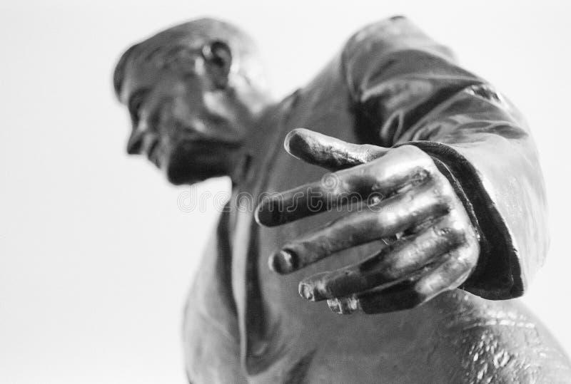 De hand van de voorzitter. stock foto