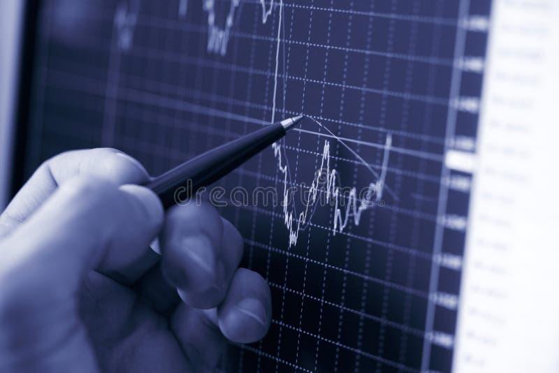 De hand van de zakenman stock afbeelding