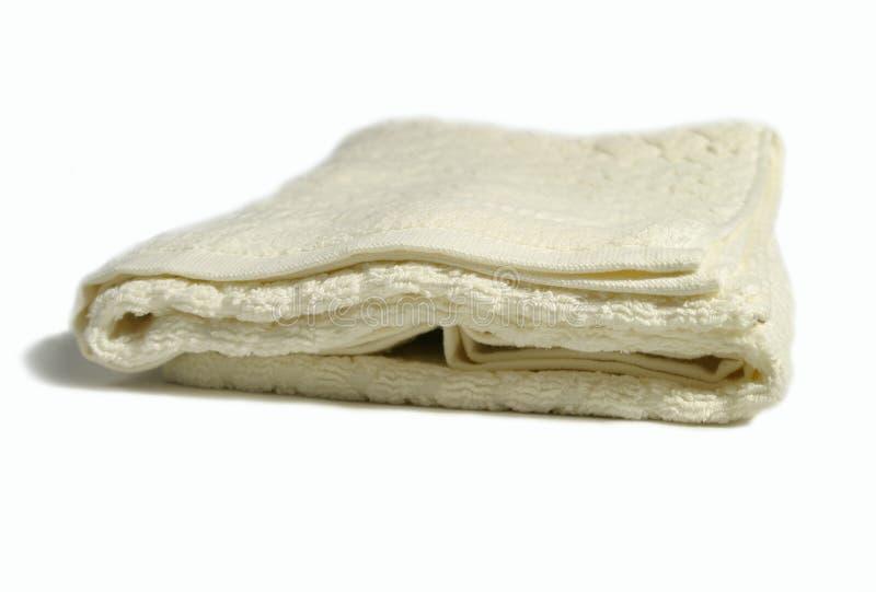 De handdoek van de badkamers royalty-vrije stock afbeelding