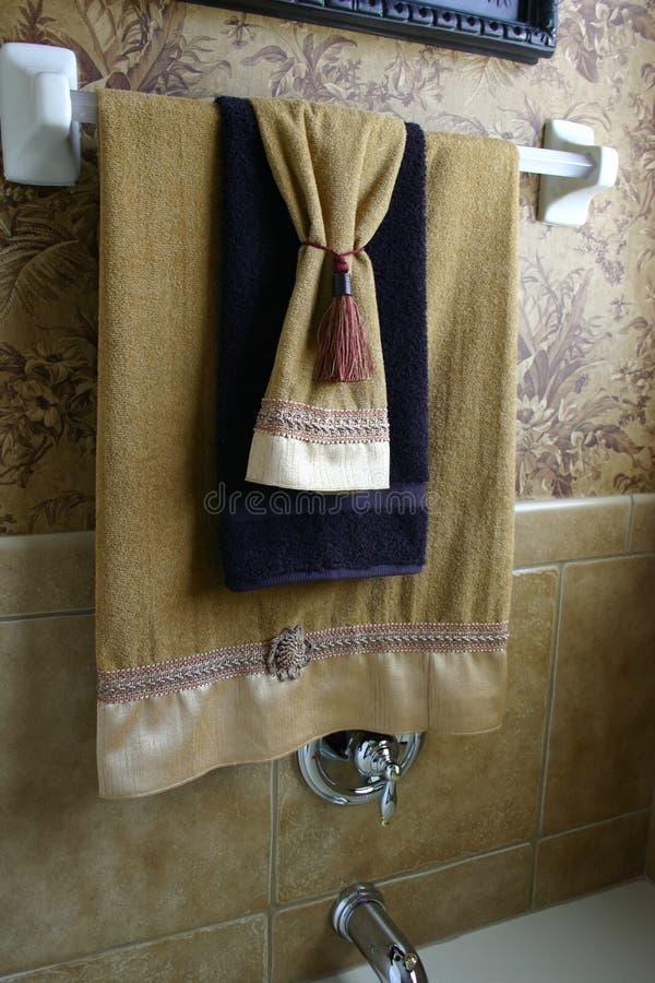 De Handdoeken van de luxe royalty-vrije stock afbeelding
