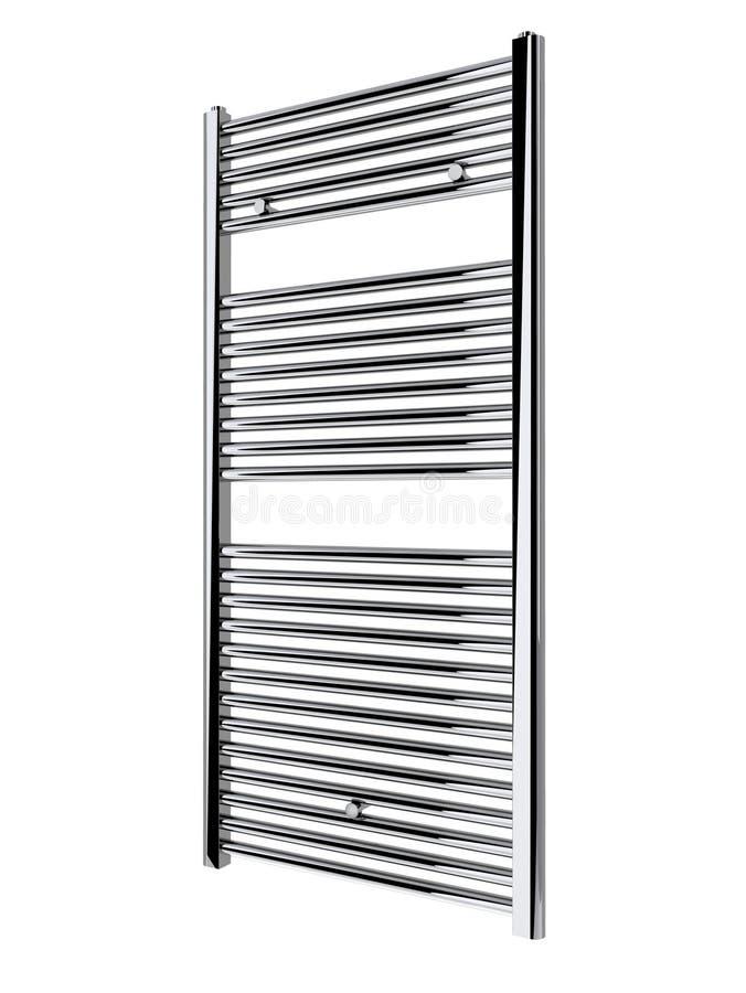 De handdoekradiator van de badkamers vector illustratie