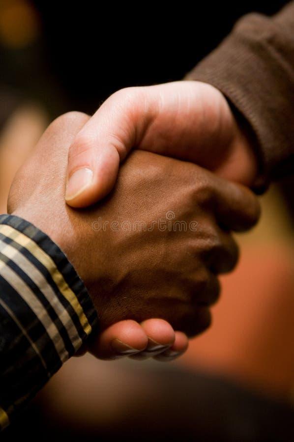 De Handdruk van de diversiteit