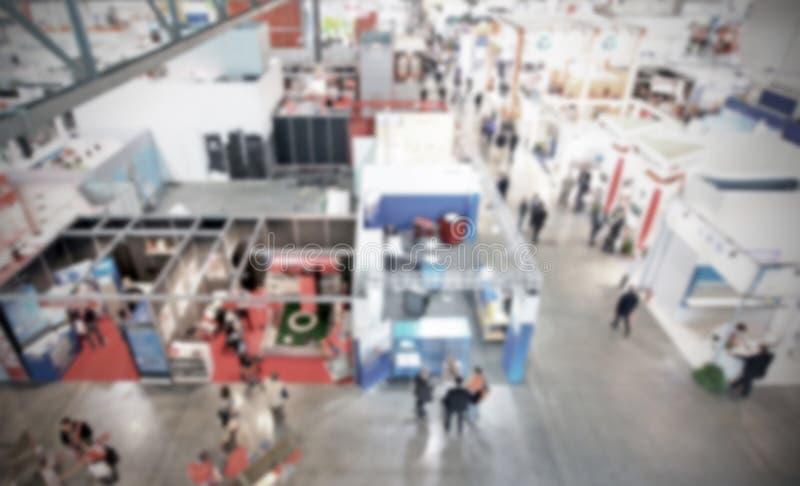 De handel toont achtergrond met een opzettelijk toegepast onduidelijk beeldeffect stock afbeelding
