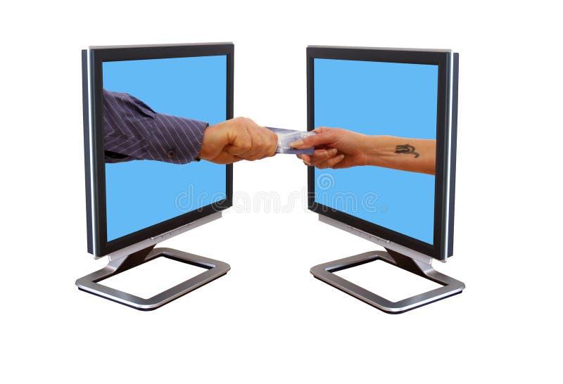 De handel van Internet royalty-vrije stock foto