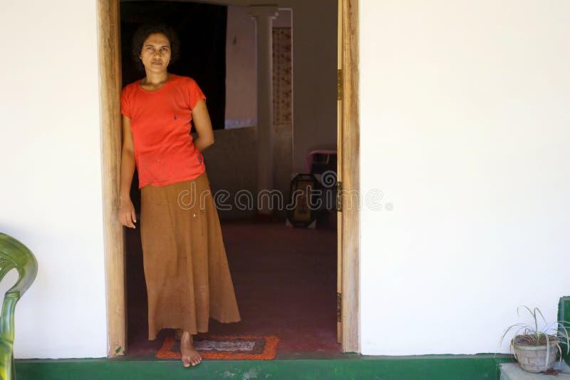 De handelaar van Lankan van Sri stock foto's