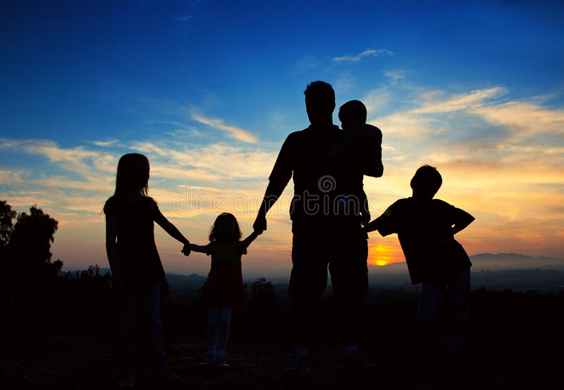De Handen van de Holding van de familie