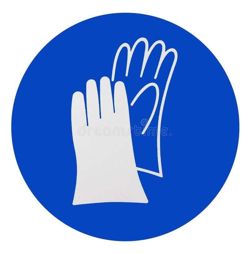 De handschoenen van de slijtageveiligheid stock illustratie