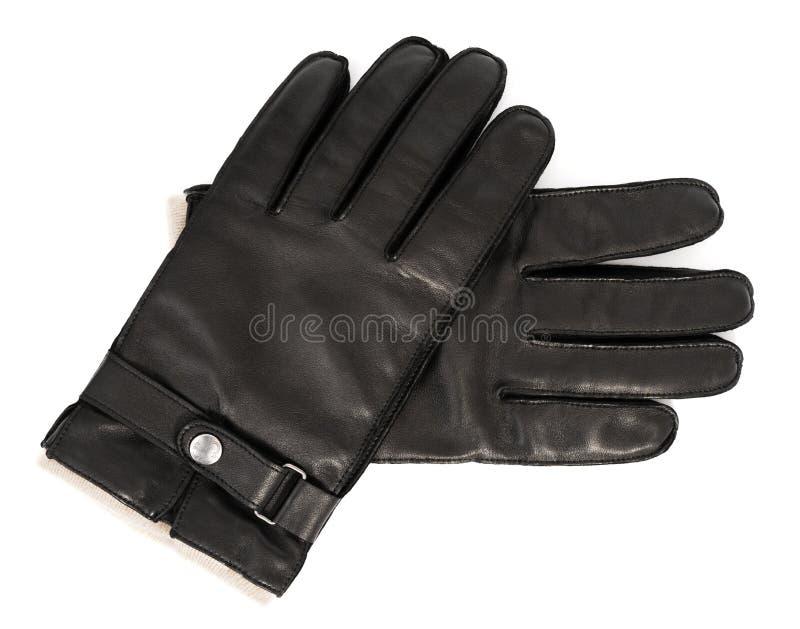 De handschoenen van het leer royalty-vrije stock foto