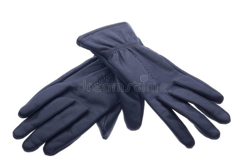 De handschoenen van het leer stock foto's