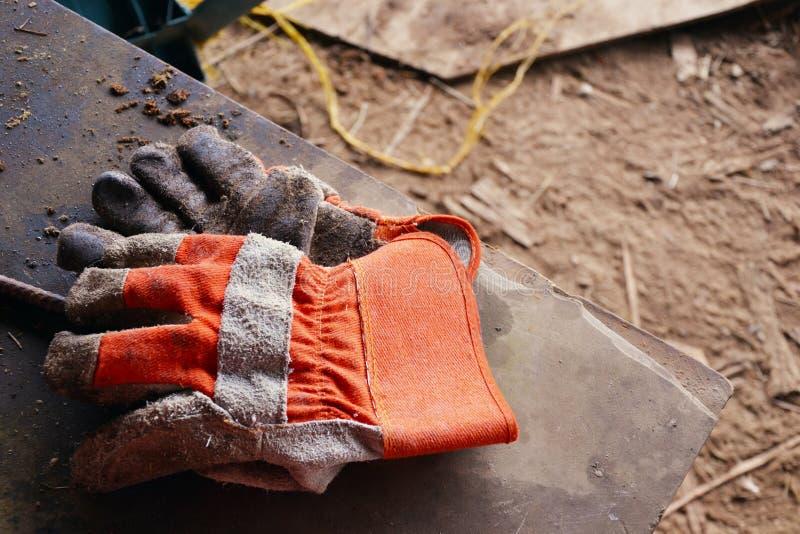 De Handschoenen van het werk royalty-vrije stock foto's
