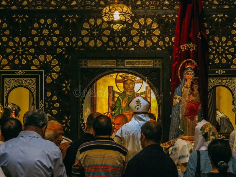De Hangende Church's-Zondagmassa stock fotografie