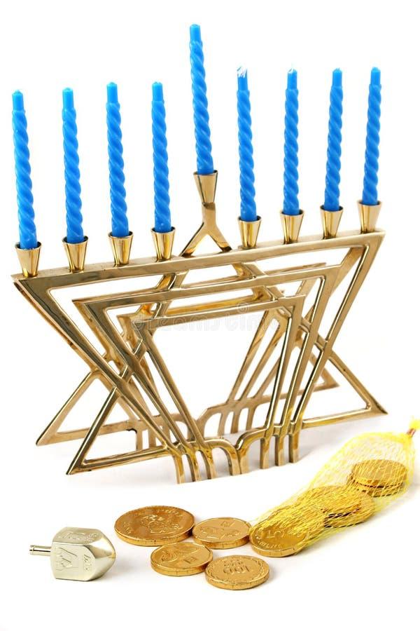 De Hanukah vida 1 ainda fotografia de stock