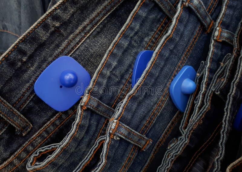 De harde markering van RFID voor kleding royalty-vrije stock afbeelding