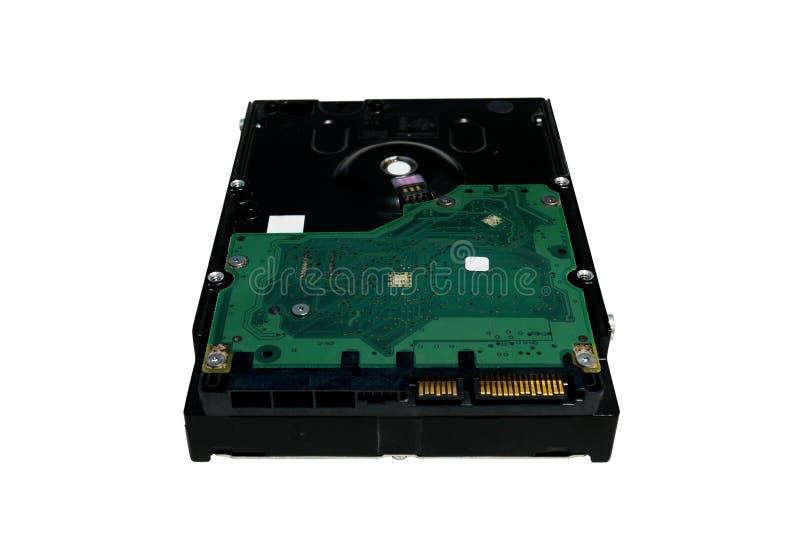 De harde schijfaandrijving van de hardwarecomputer royalty-vrije stock afbeelding