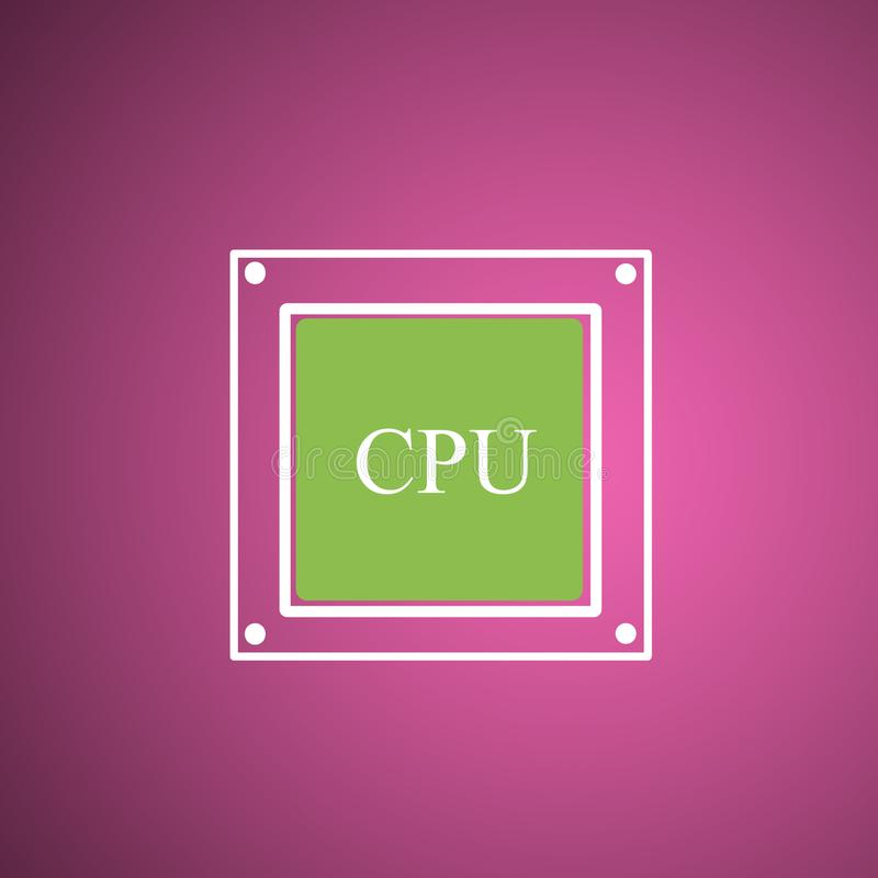 De Hardware van de computer royalty-vrije illustratie