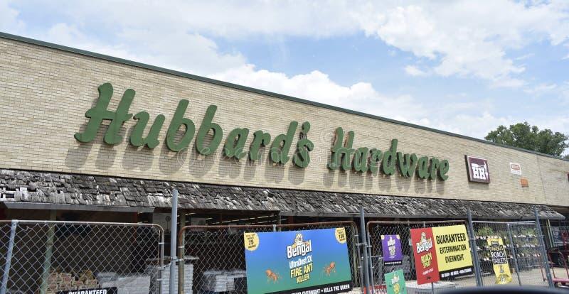 De Hardware van Hubbard, Memphis, TN royalty-vrije stock afbeelding