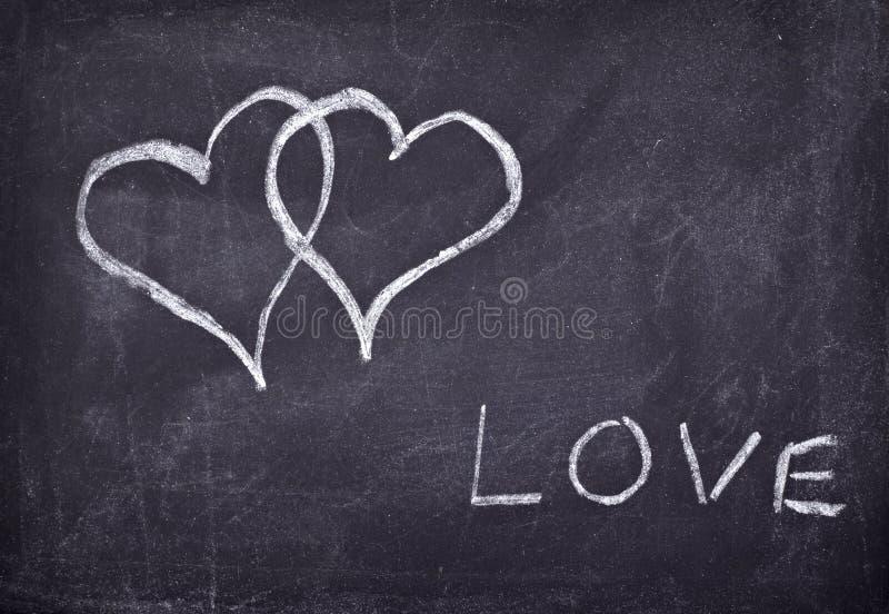 De harten van de liefde   stock fotografie