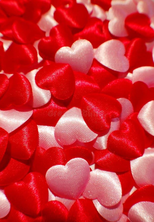 De harten van de liefde stock foto's