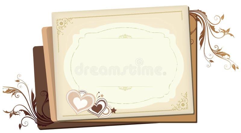 De harten van de room vector illustratie