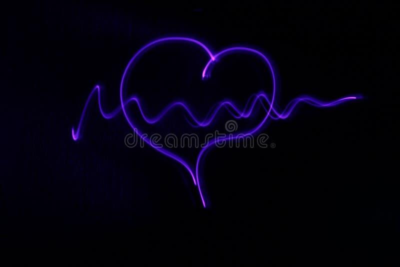 De hartslag stock fotografie