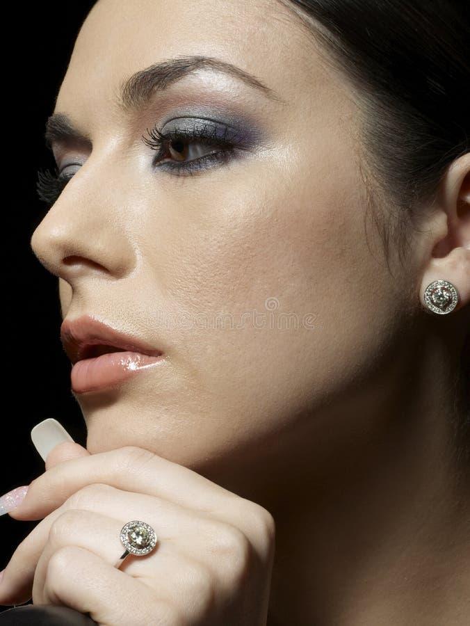 De hartstocht van de diamant royalty-vrije stock foto