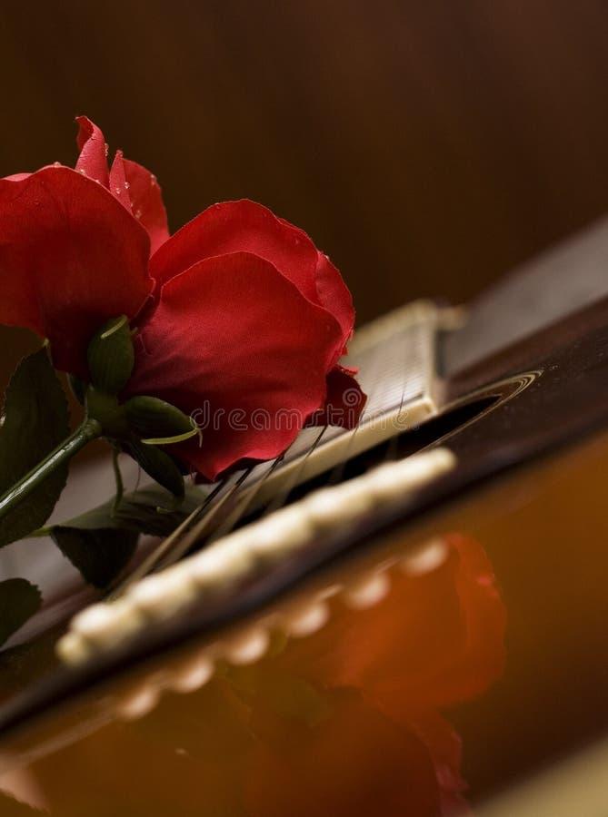 De Hartstocht van de gitaar royalty-vrije stock afbeeldingen