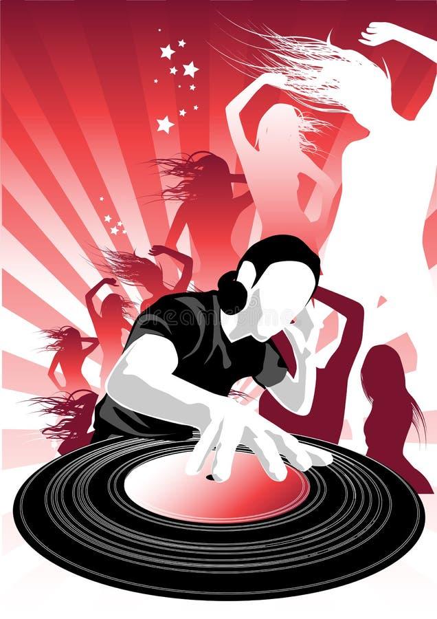 De Hartstocht van de muziek ll royalty-vrije illustratie