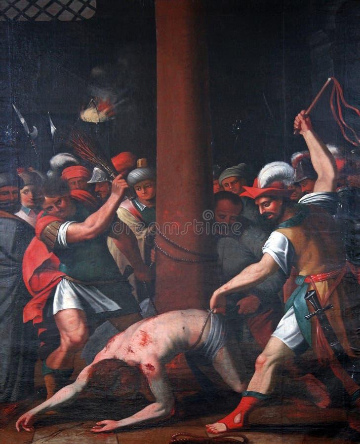 De Hartstocht van Jesus royalty-vrije stock fotografie