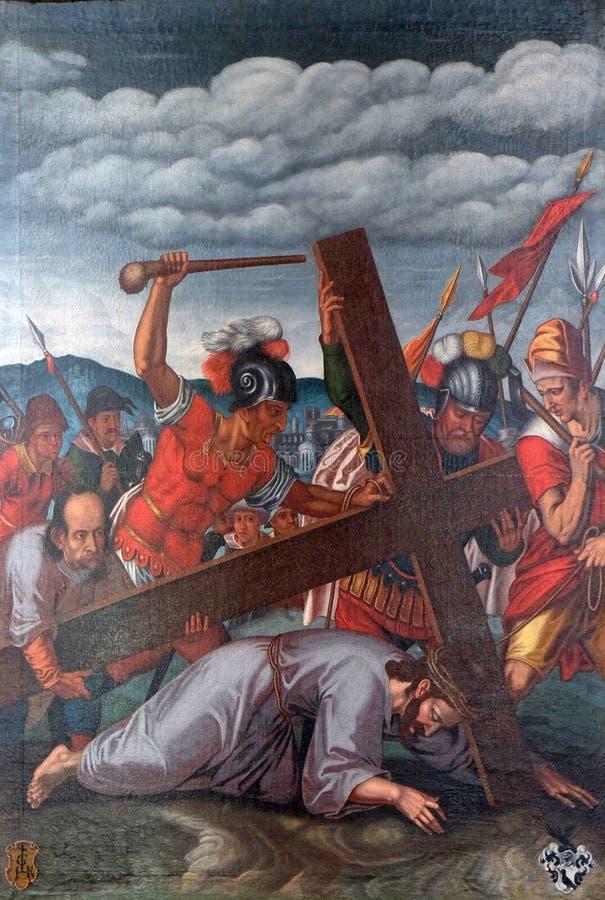 De Hartstocht van Jesus royalty-vrije stock foto's