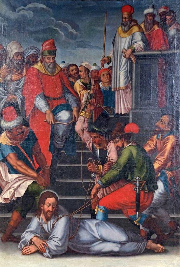 De Hartstocht van Jesus royalty-vrije stock afbeelding