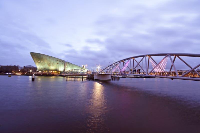 De haven van Amsterdam Nederland royalty-vrije stock foto