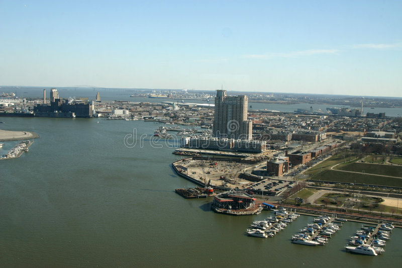 De haven van Baltimore royalty-vrije stock afbeeldingen