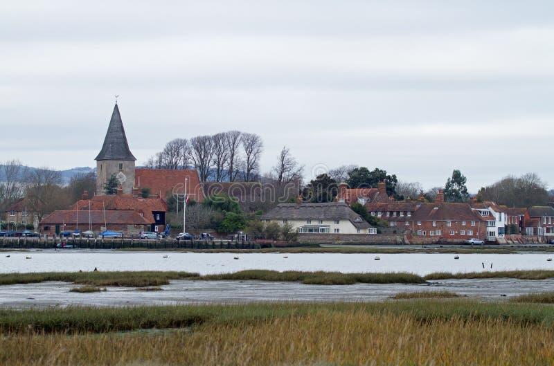 De Haven van Bosham royalty-vrije stock afbeeldingen