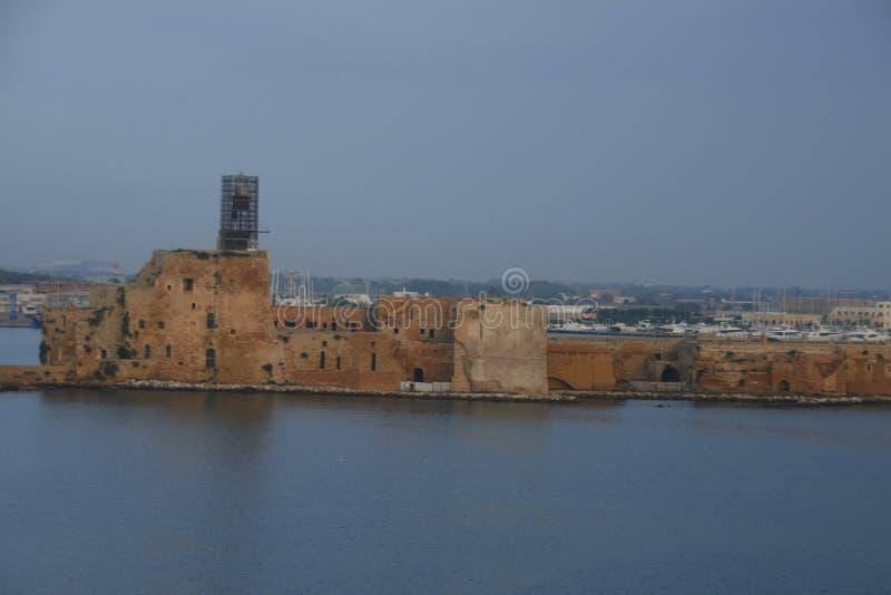 De haven van Brindisi, Italië stock fotografie