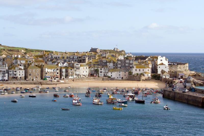 De Haven van Cornwall stock afbeeldingen