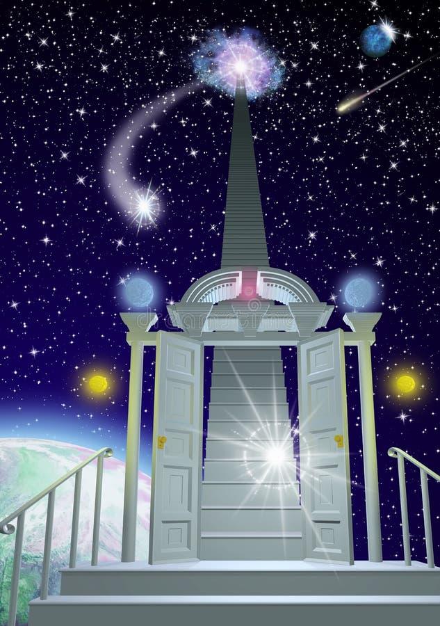 De Haven van de droom stock illustratie