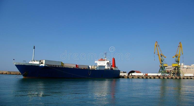 De haven van de lading van Sotchi royalty-vrije stock afbeelding