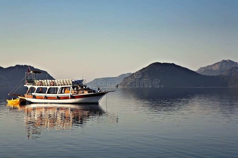De Haven van de ochtend in Marmaris, Turkije royalty-vrije stock fotografie