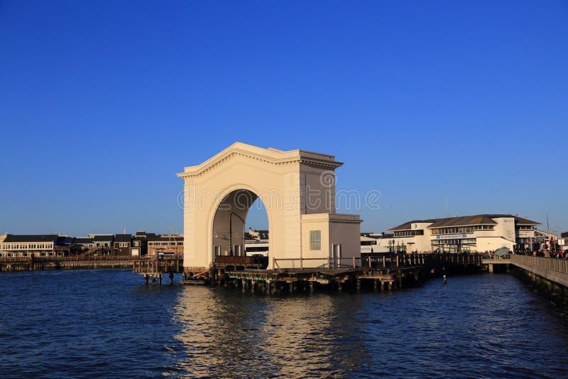 De haven van de visser van San Francisco stock foto