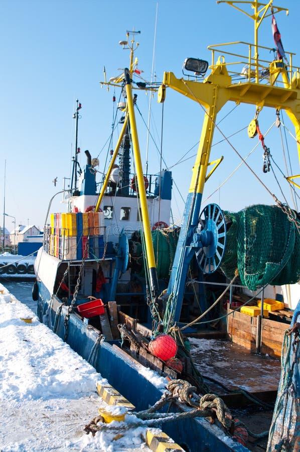 De haven van de winter royalty-vrije stock foto