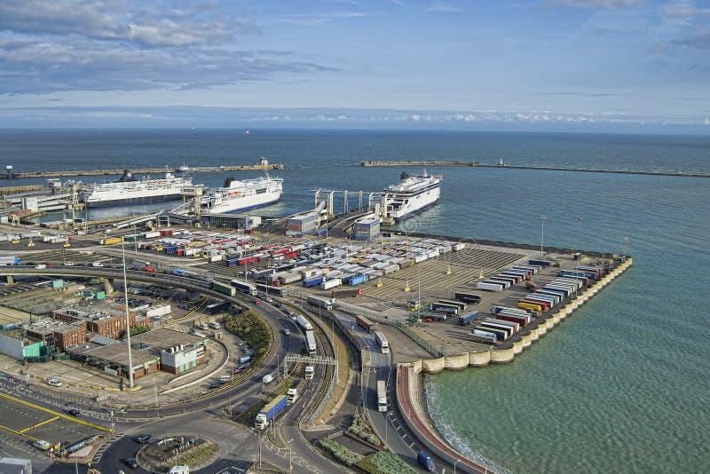 De haven van Dover stock foto