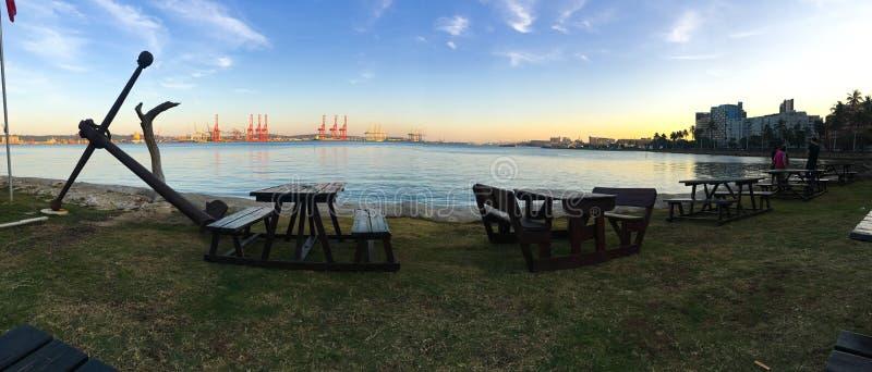 De Haven van Durban stock foto