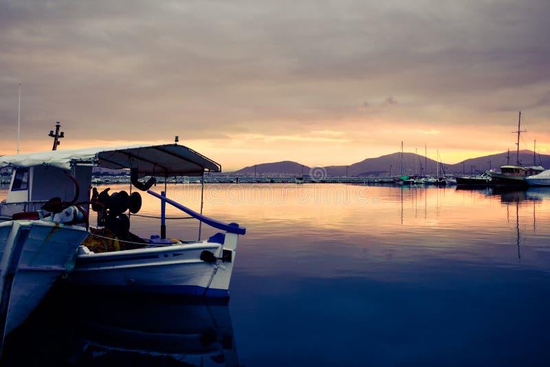 De haven van Griekenland royalty-vrije stock afbeelding