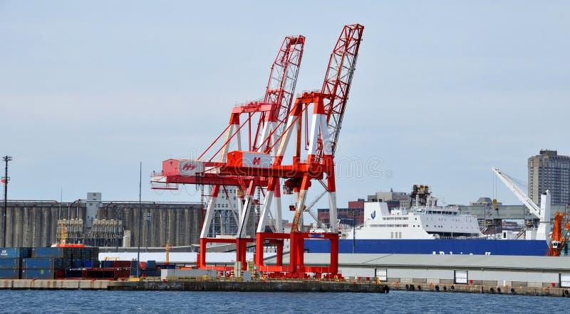 De Haven van Halifax stock afbeelding