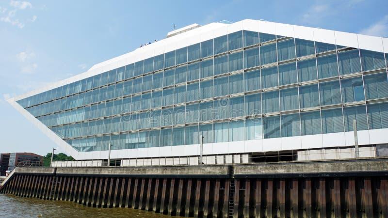 De haven van Hamburg stock fotografie