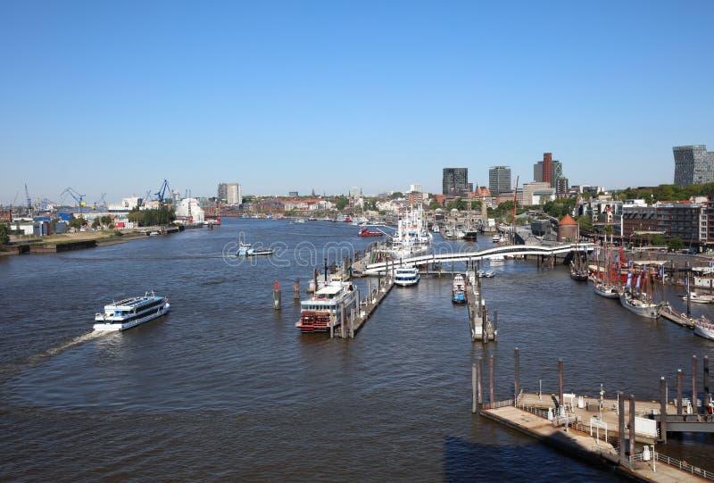 De Haven van Hamburg duitsland royalty-vrije stock fotografie