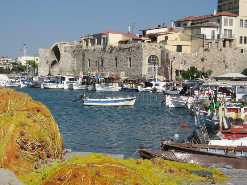 De haven van Heraklion royalty-vrije stock fotografie
