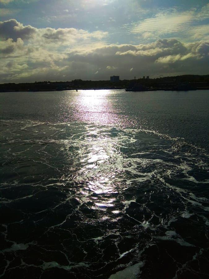 De haven van Kiel royalty-vrije stock afbeelding