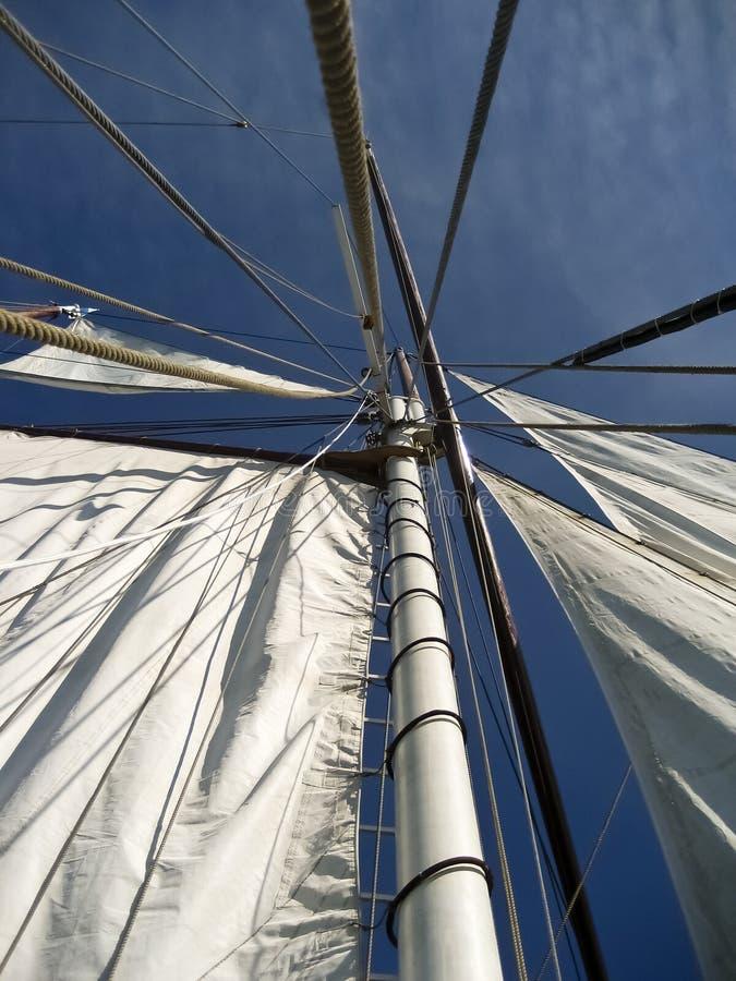 In de haven van Kiel royalty-vrije stock fotografie